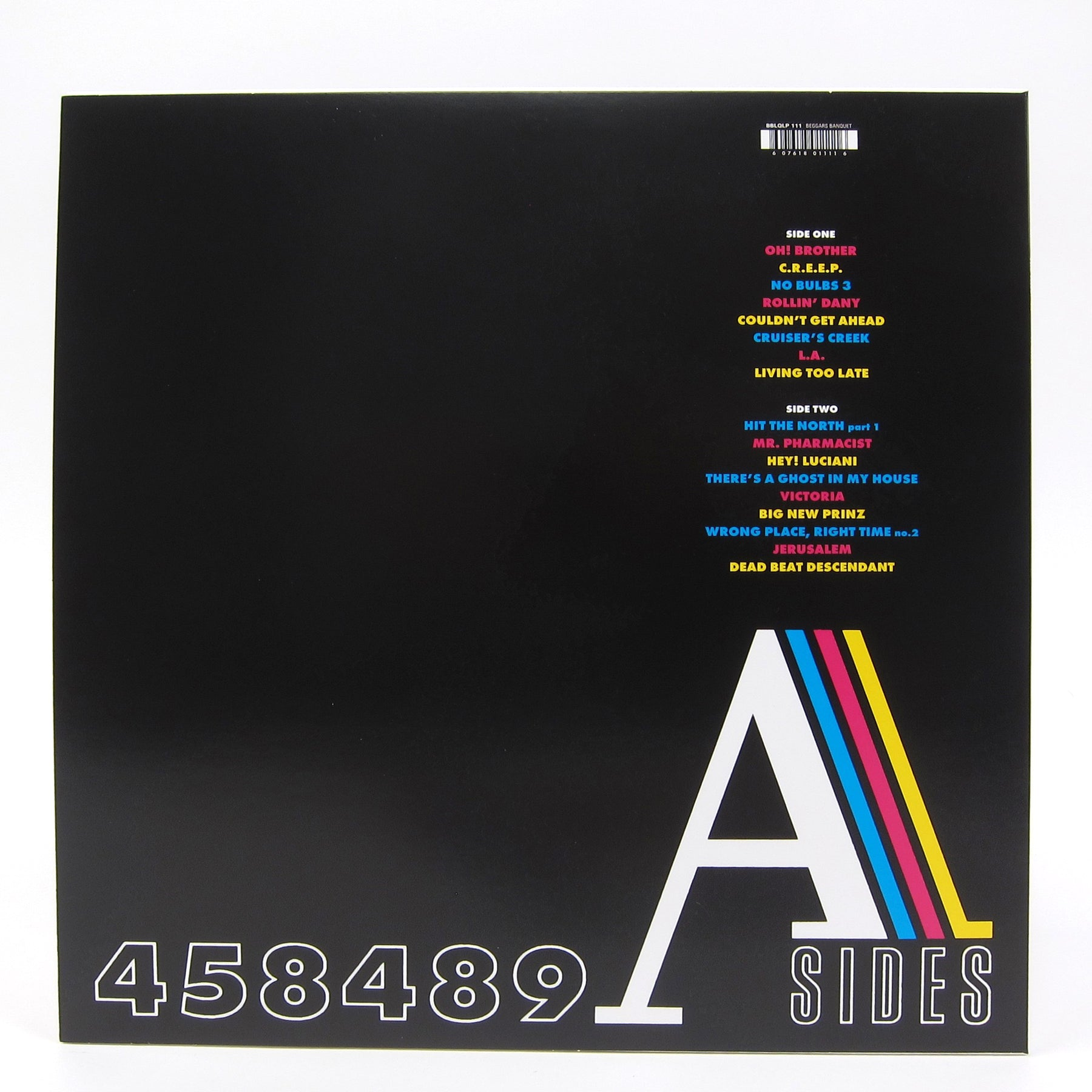 The Fall 458489 A Sides (Colored Vinyl) Vinyl LP