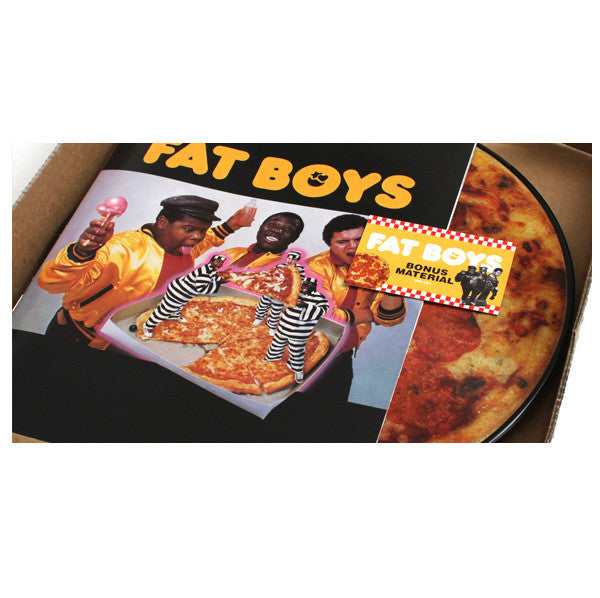 Fat Boys: Fat Boys Deluxe Edition (Pizza Picture Disc, Booklet, MP3) 3