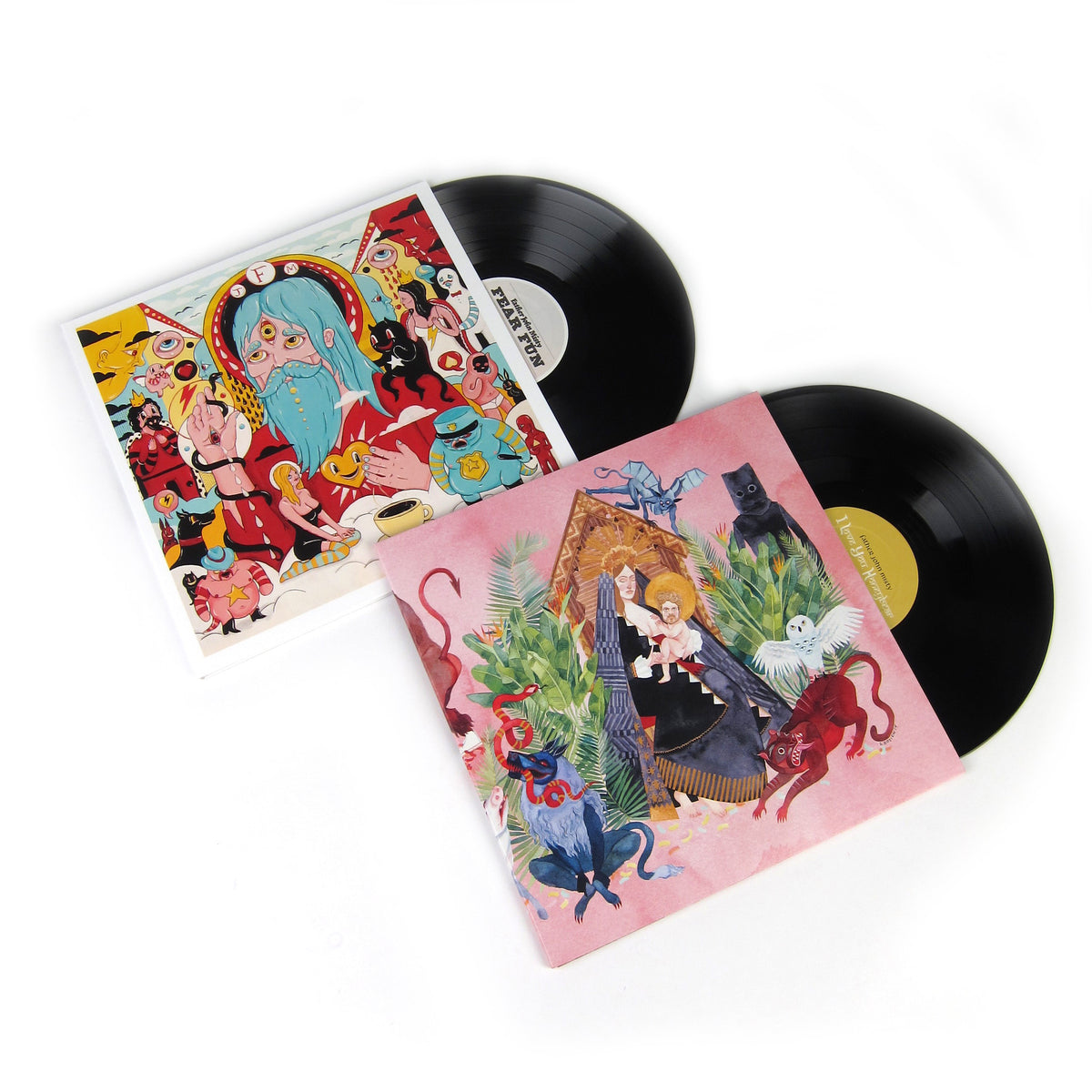 Father John Misty: Vinyl LP Album Pack (Fear Fun, I Love You Honeybear)