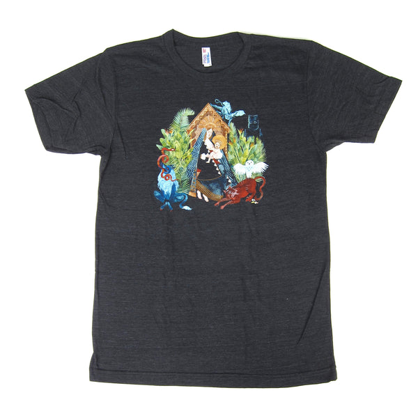 Father John Misty: I Love You, Honeybear Shirt - Heather Black