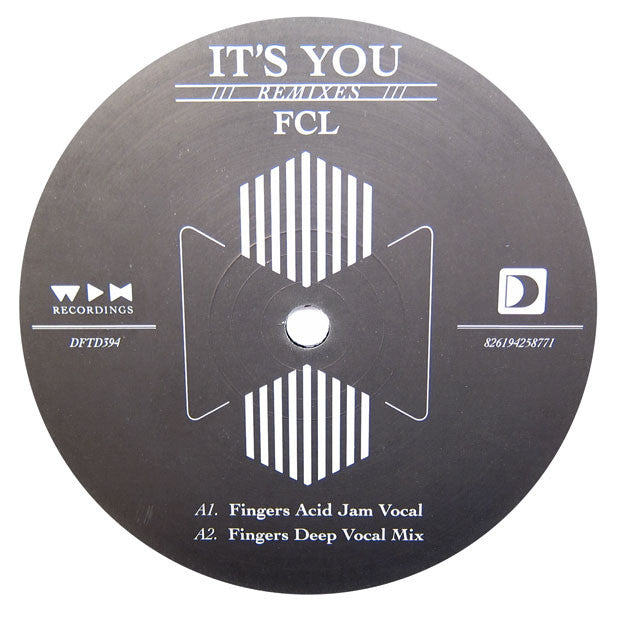 FCL: It's You (Mr. Fingers, MK) 12""
