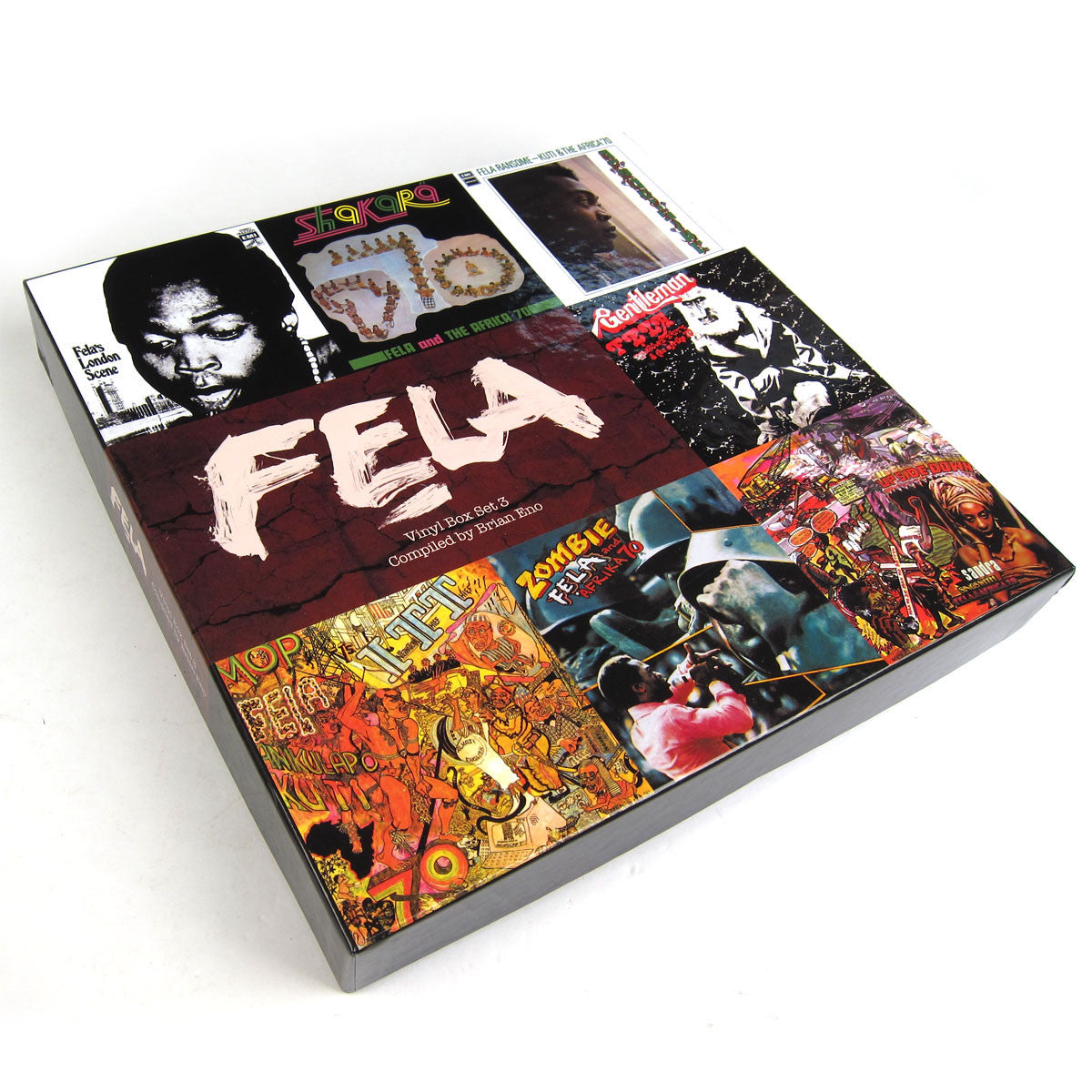 Fela Kuti: Vinyl Box Set 3 Compiled By Brian Eno (Booklet, Poster, 180g) Vinyl 7LP box
