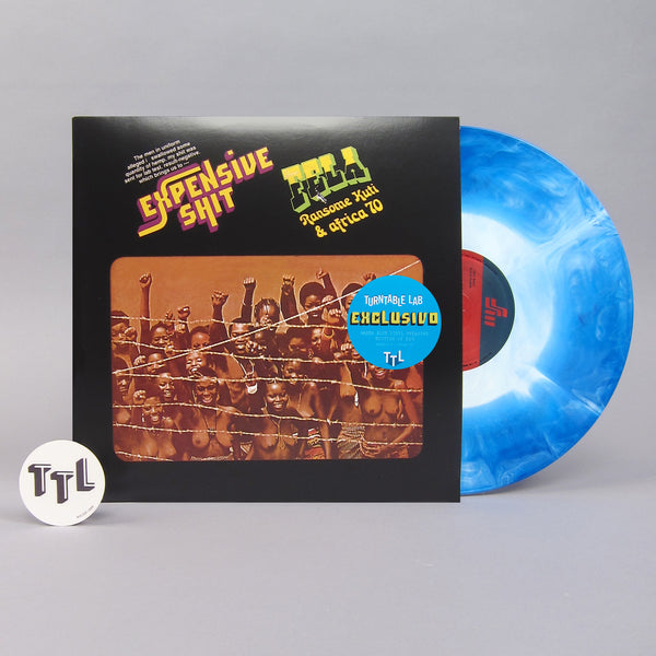 Fela Ransome Kuti & Africa 70: Expensive Shit (Colored Vinyl) Vinyl LP - Turntable Lab Exclusive