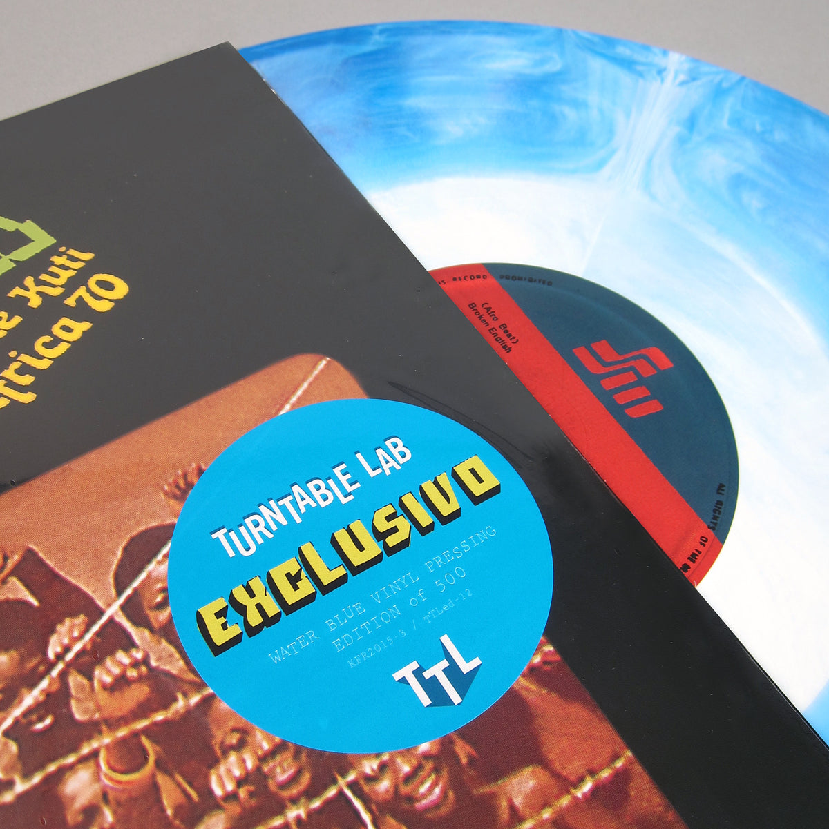 Fela Ransome Kuti & Africa 70: Expensive Shit (Colored Vinyl) Vinyl LP - Turntable Lab Exclusive detail