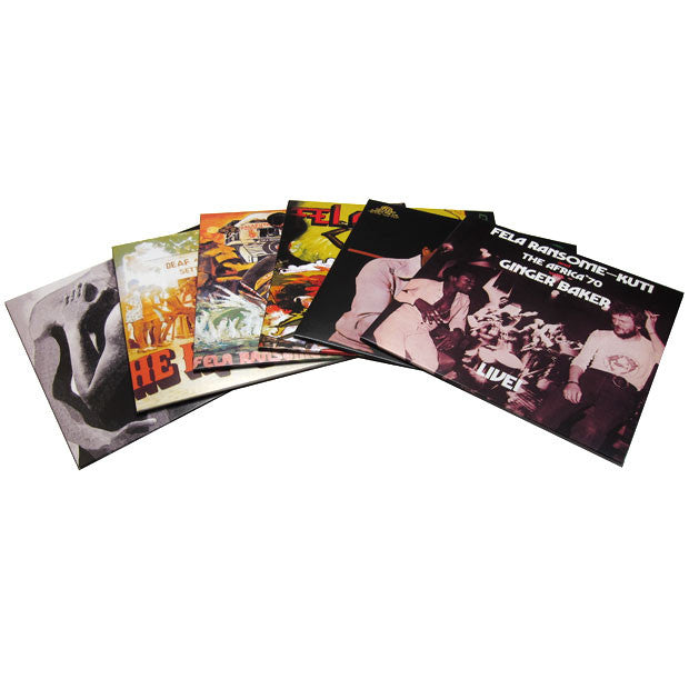 Fela Kuti: Vinyl Box Set 2 Compiled By Ginger Baker detail 2