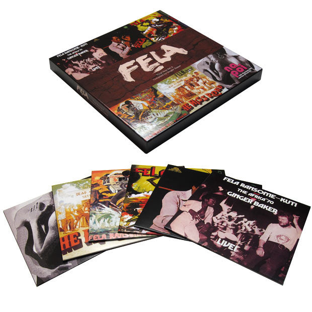 Fela Kuti: Vinyl Box Set 2 Compiled By Ginger Baker