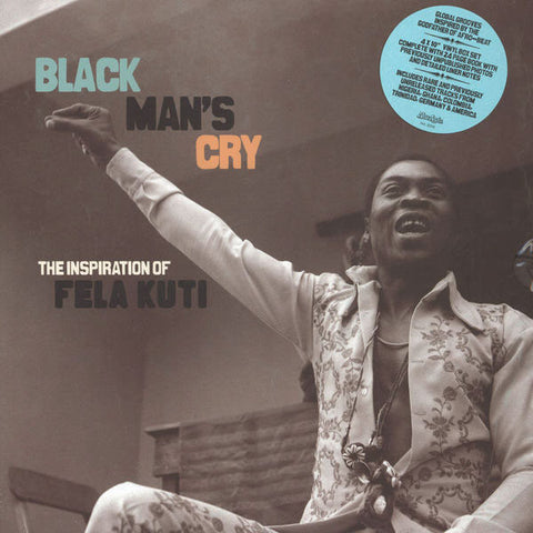 V/A: Black Man's Cry: The Inspiration of Fela Kuti Box Set 4x10""