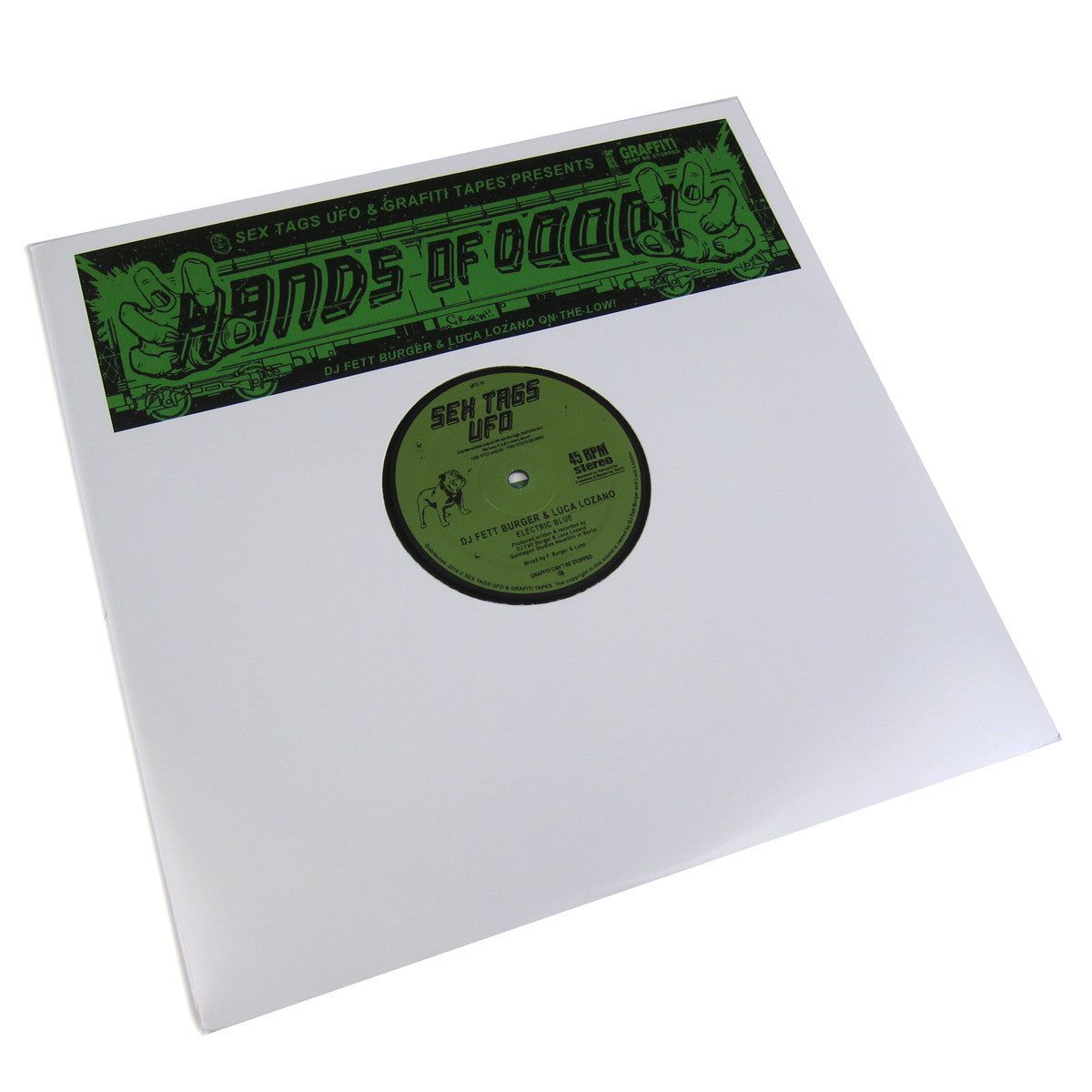 DJ Fett Burger & Luca Lozano: Hands Of Doom Vinyl 12""