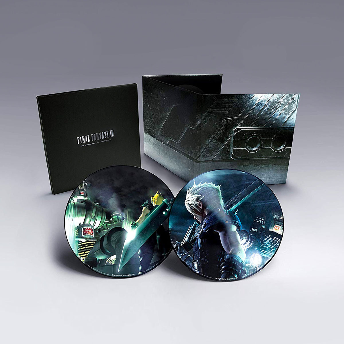 Nobuo Uematsu: Final Fantasy VII Soundtrack (180g, Pic Disc) Vinyl 2LP - PRE-ORDER