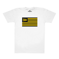 Fool's Gold: Flag Shirt - White