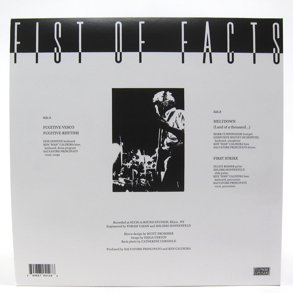Fist Of Facts: Fugitive Vesco (Liquid Liquid) Vinyl LP+7""