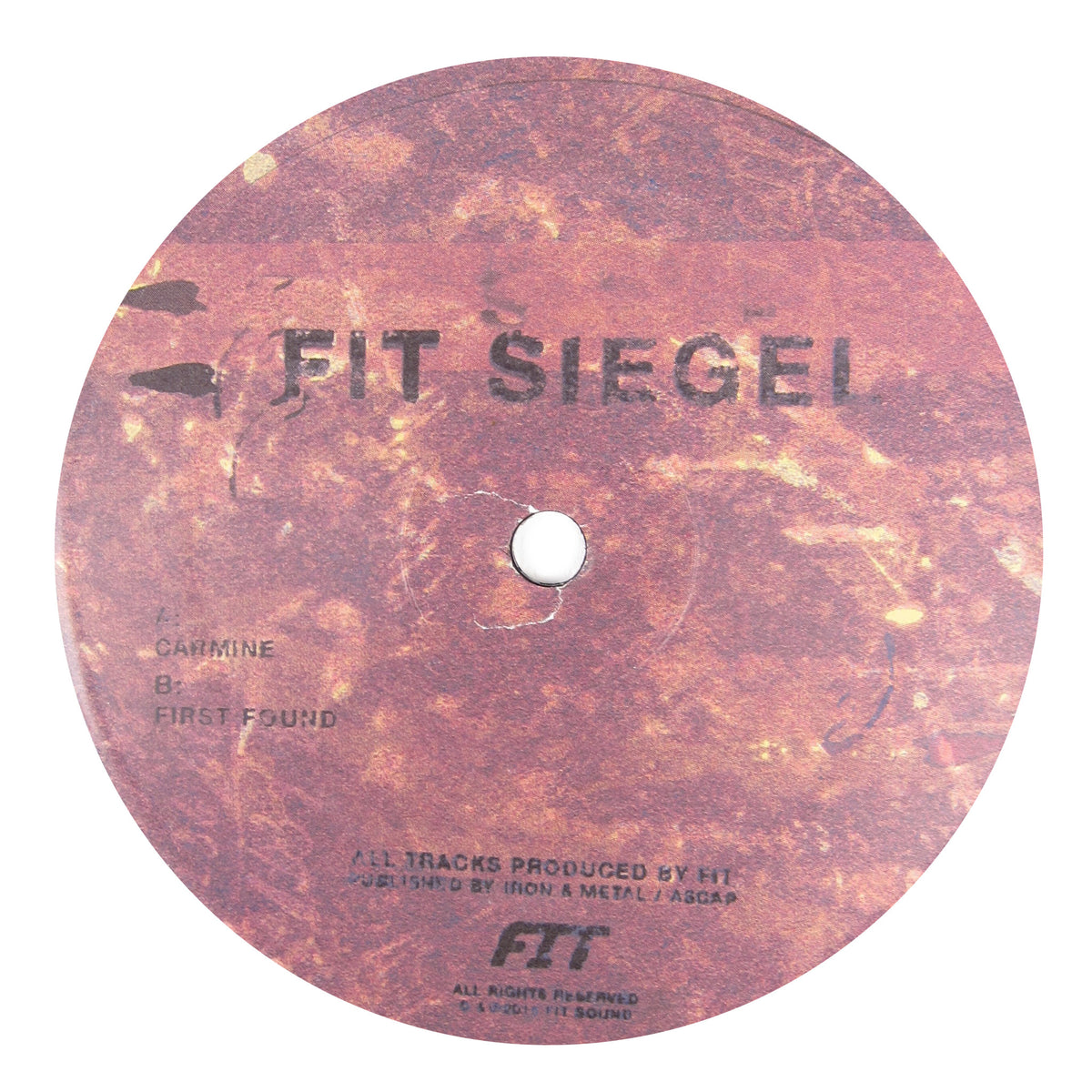 Fit Siegel: Carmine Vinyl 12""