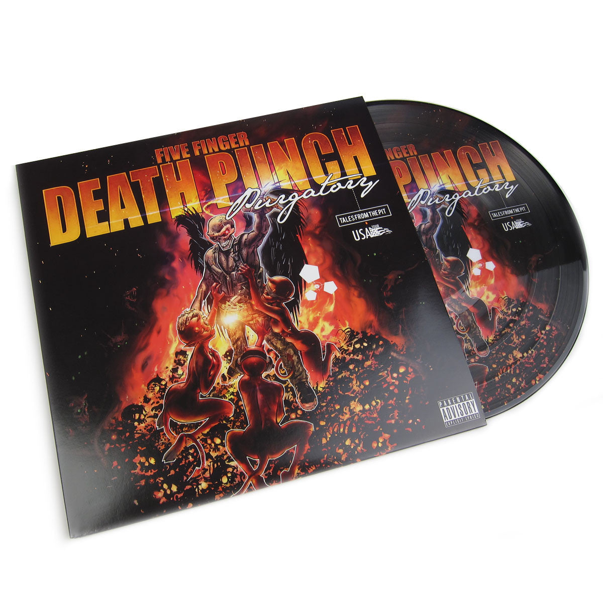 Five Finger Death Punch: Purgatory: Tales From The Pit (Picture Disc) Vinyl 2LP (Record Store Day)