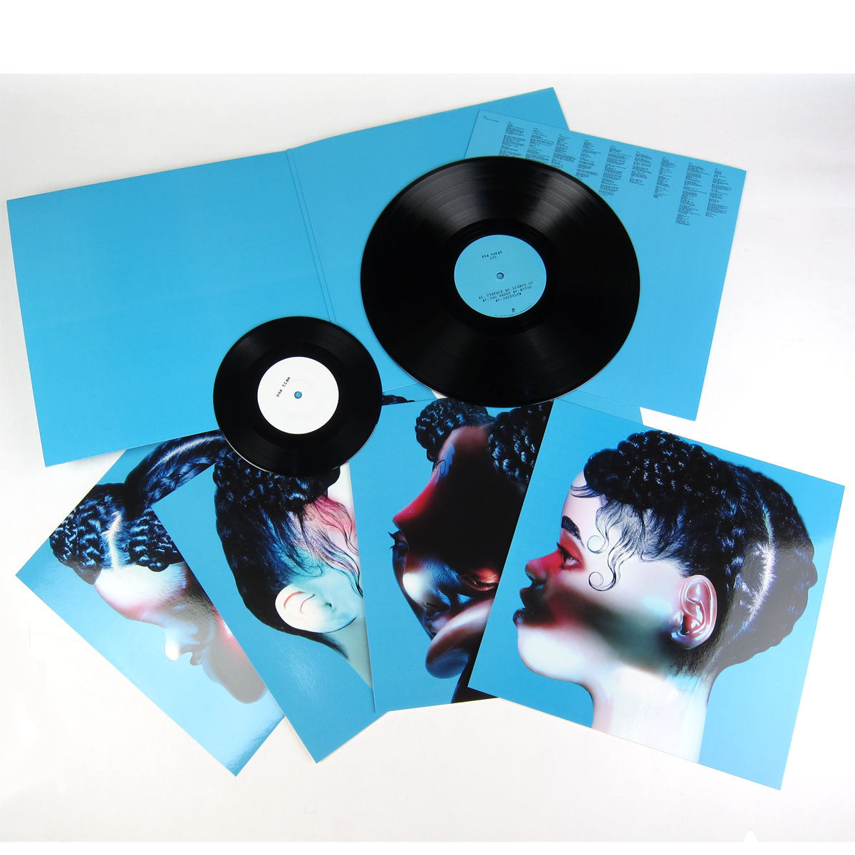 "FKA Twigs: LP 1 (Free MP3) Deluxe Vinyl LP+7"" laydown"