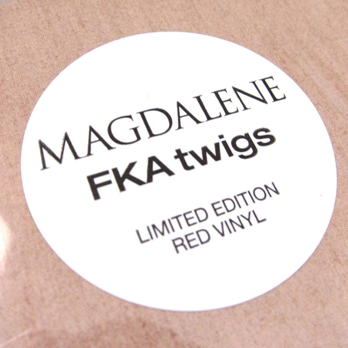 FKA Twigs: MAGDALENE (Indie Exclusive Colored Vinyl) Vinyl LP
