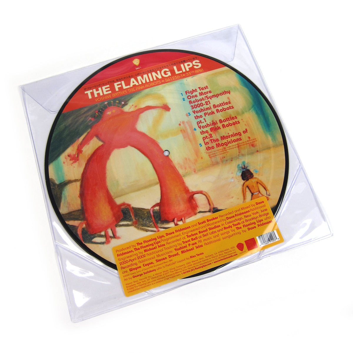 The Flaming Lips Yoshimi Battles The Pink Robots Pic