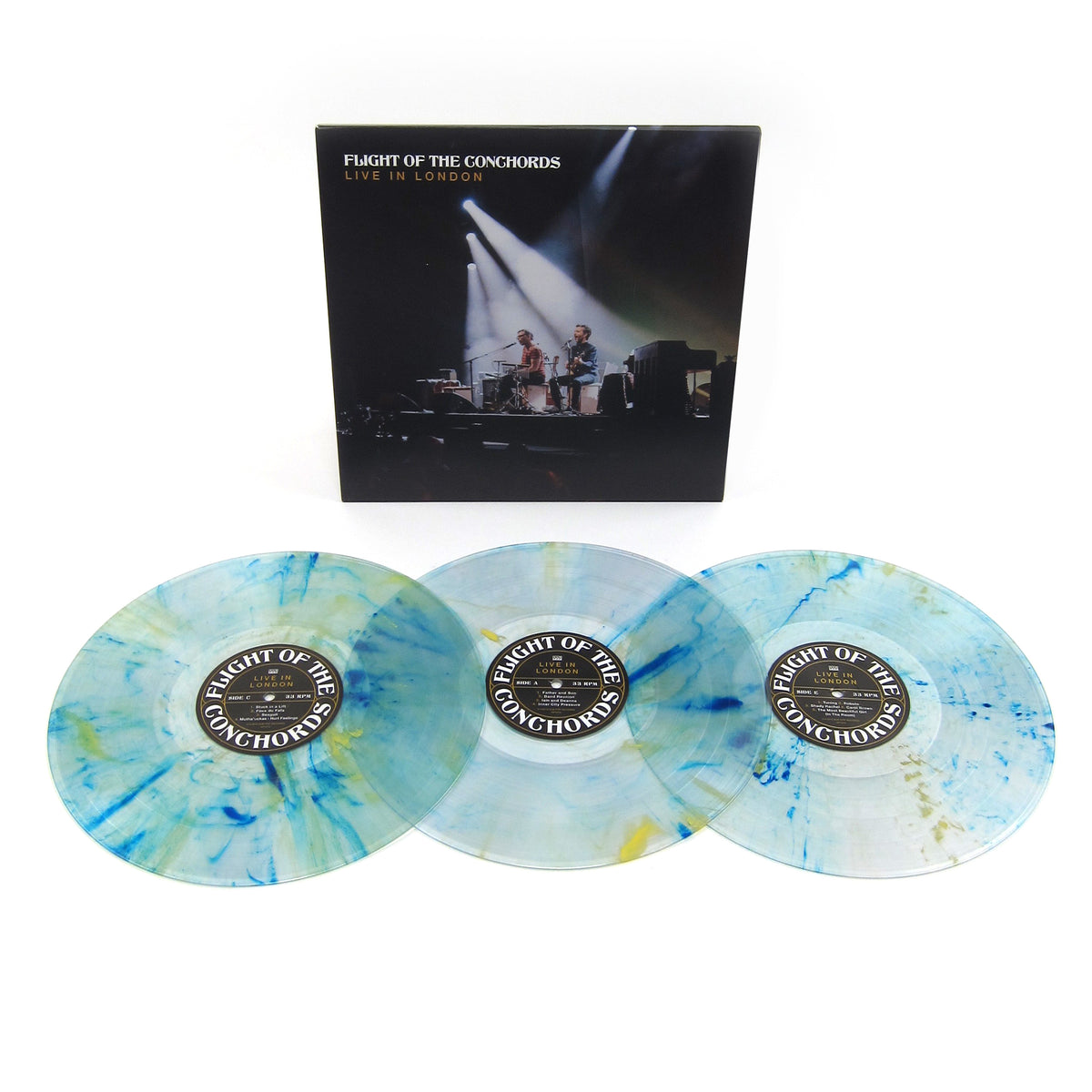 Flight Of The Conchords: Live In London (Loser Edition Colored Vinyl) Vinyl 3LP