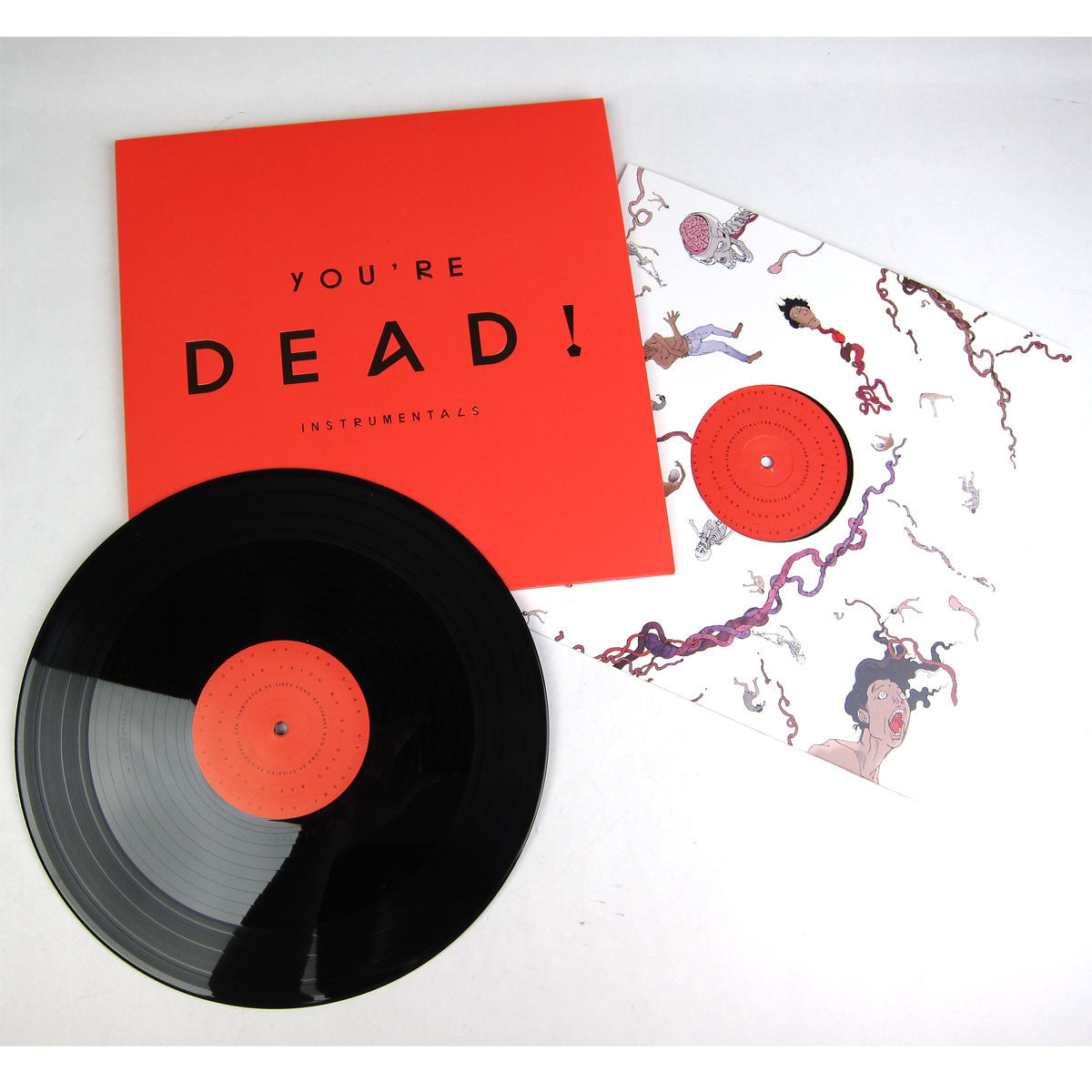 Flying Lotus: You're Dead! Deluxe Vinyl 4LP Boxset (Limited Edition) instrumentals