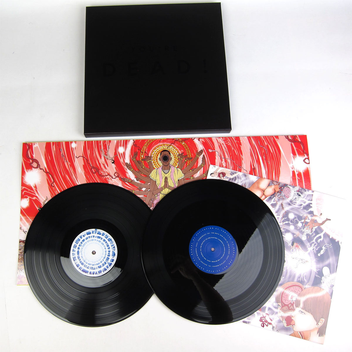 Flying Lotus: You're Dead! Deluxe Vinyl 4LP Boxset (Limited Edition) album detail