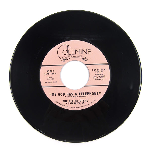 The Flying Stars of Brooklyn, NY: My God Has A Telephone Vinyl 7""