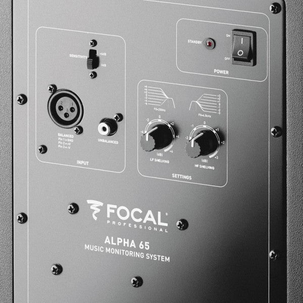 Focal: Alpha 65 Professional Monitoring Loudspeaker (Pair)