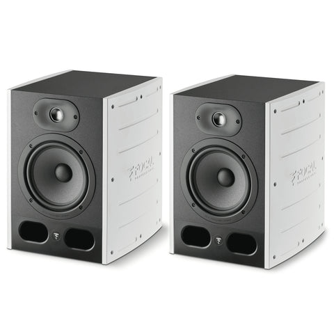 Focal: Focal: Alpha 65 Professional Monitoring Loudspeaker - Limited Edition White (Pair)