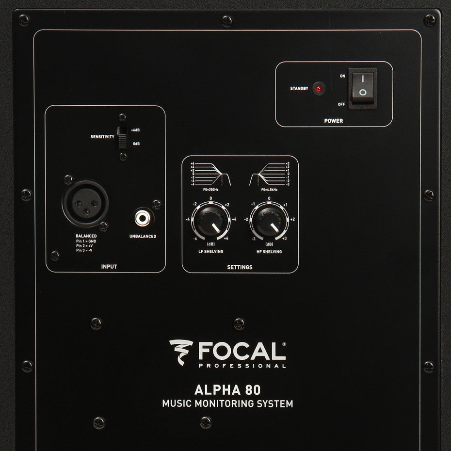 Focal: Alpha 80 Professional Monitoring Loudspeaker (Single)