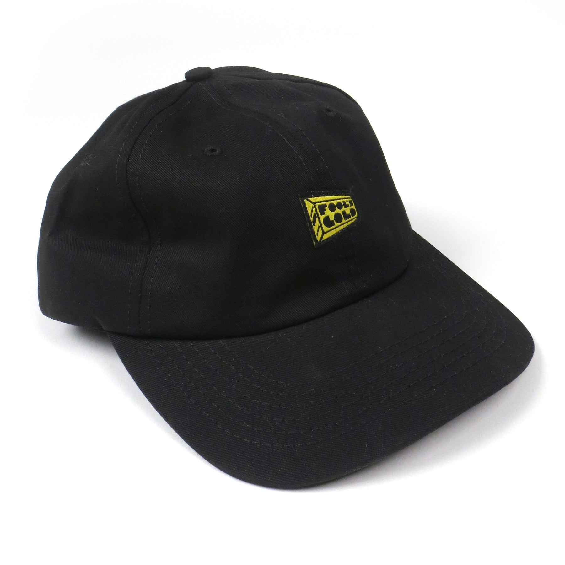 Fool s Gold  Logo Dad Hat - Black – TurntableLab.com cbbd3fcf9b0