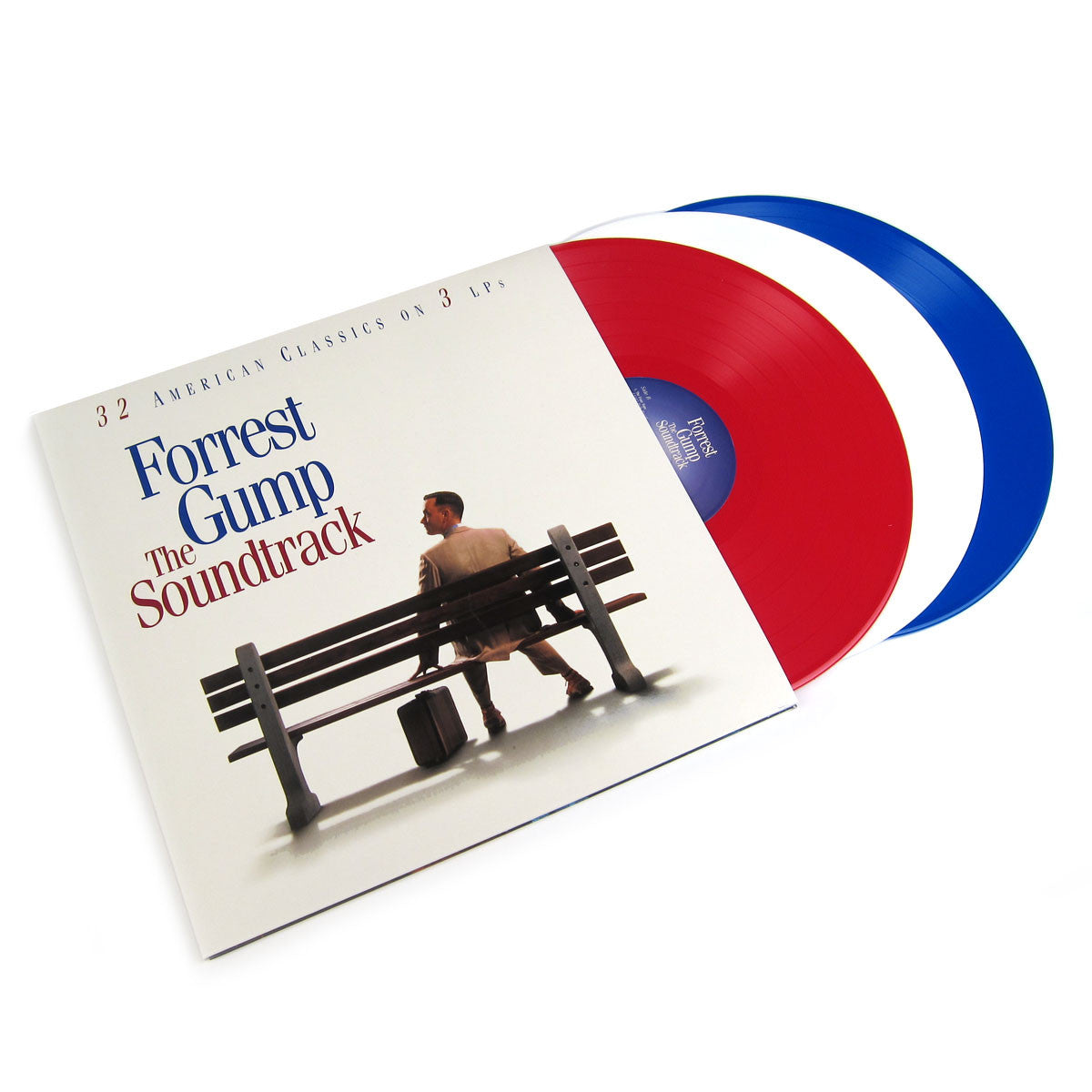 Forrest Gump: 20th Anniversary OST (Colored Vinyl, 180g) Vinyl 3LP