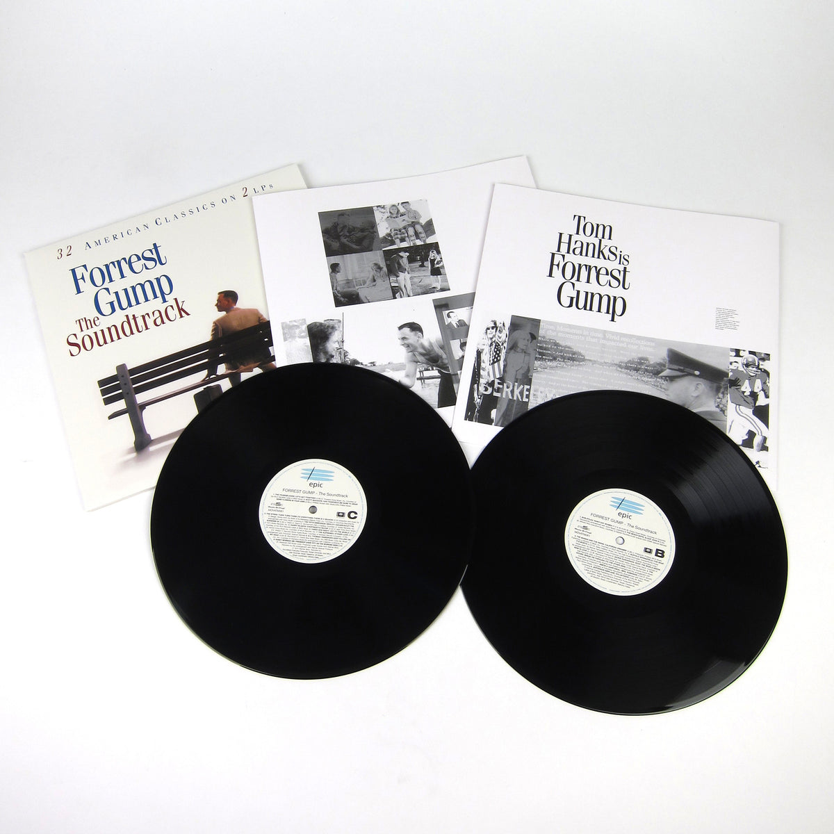 Forrest Gump: The Soundtrack (Music On Vinyl 180g) Vinyl 2LP layout
