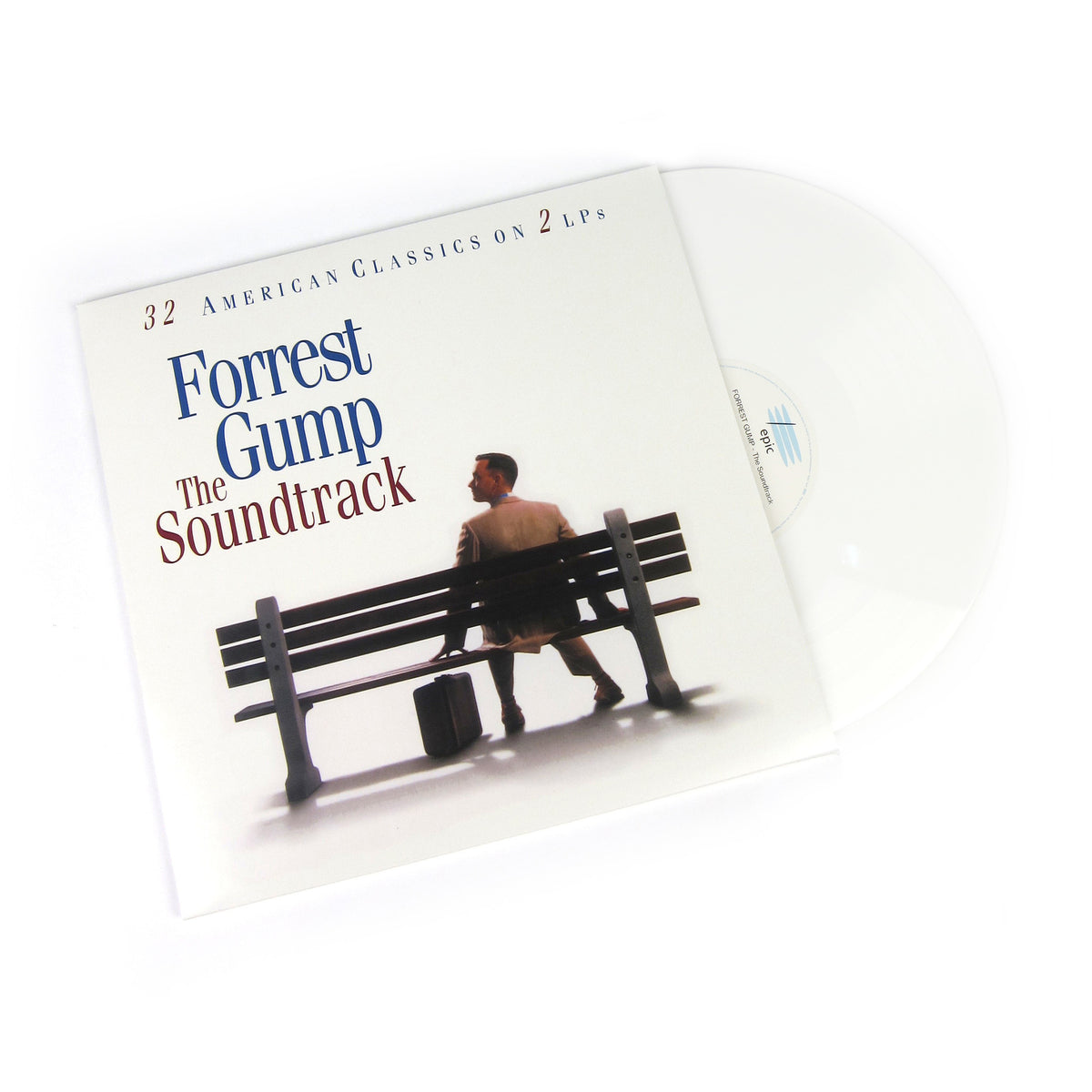 Forrest Gump: The Soundtrack (180g, Colored Vinyl) Vinyl 2LP