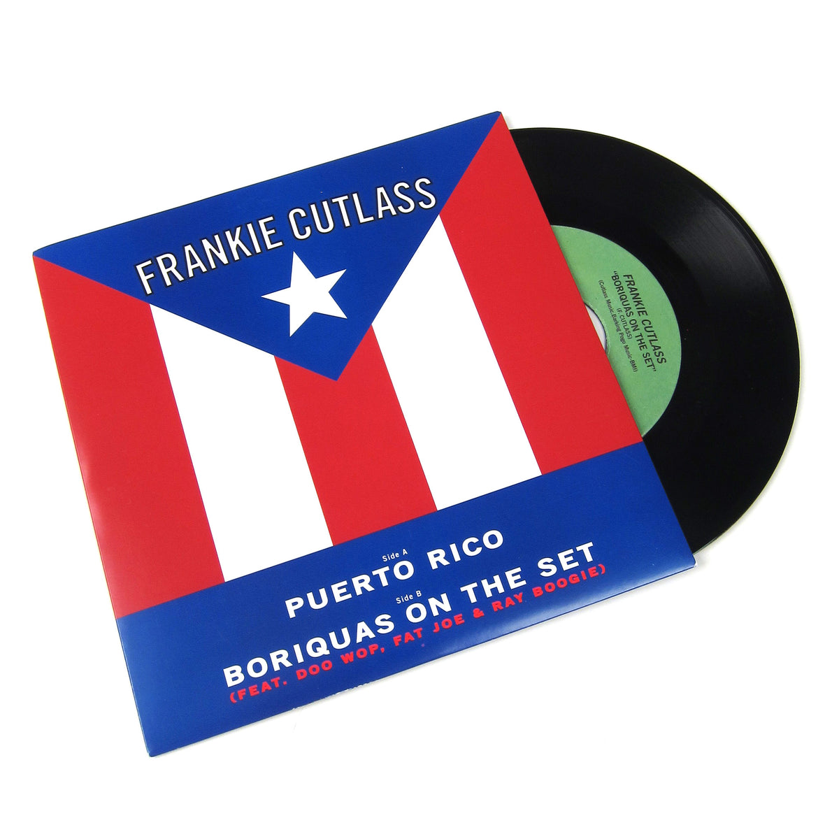 Frankie Cutlass: Puerto Rico / Boriquas On The Set Vinyl 7""