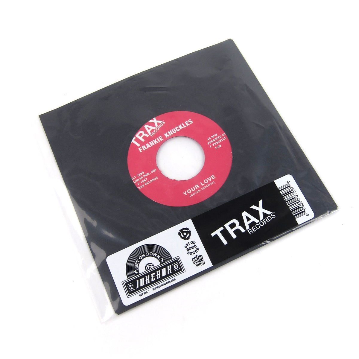 Frankie Knuckles: Baby Wants To Ride / Your Love Vinyl 7""