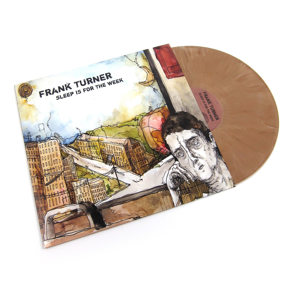 Frank Turner: Sleep Is For The Week (Brown Colored Vinyl) Vinyl LP