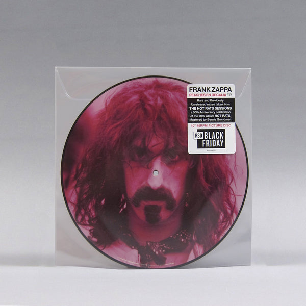 "Frank Zappa: Peaches En Regalia / Little Umbrellas (Pic Disc) Vinyl 10"" (Record Store Day)"