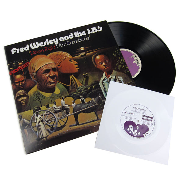 Fred Wesley and The JB's: Damn Right I Am Somebody - Get On Down Edition Vinyl LP