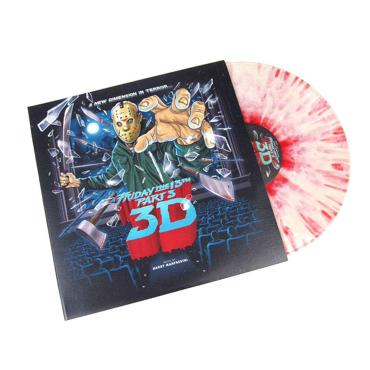 Harry Manfredini: Friday The 13th Part 3 (180g Colored Vinyl) Vinyl 2LP