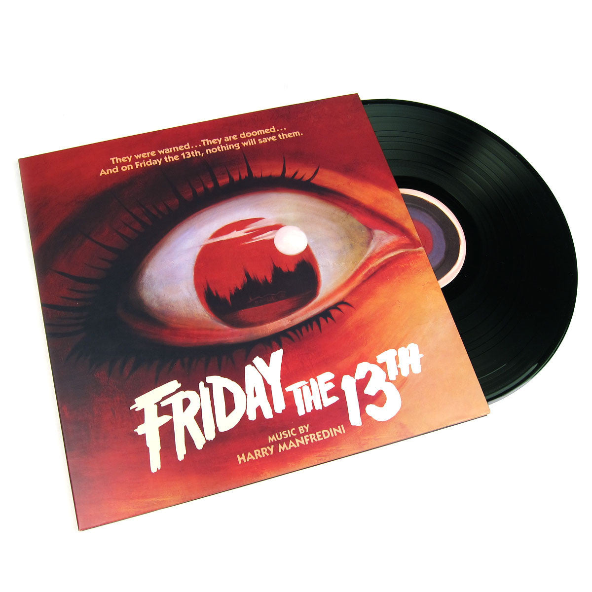Harry Manfredini: Friday The 13th - 1980 Original Score (Colored Vinyl, 180g) Vinyl LP