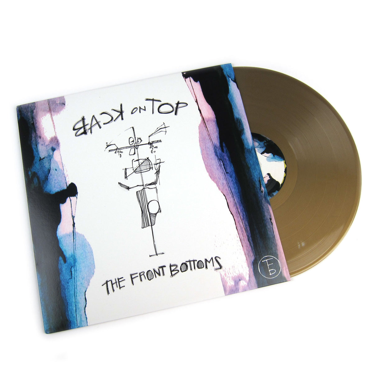 Front Bottoms: Back On Top (Indie Exclusive Colored Vinyl) Vinyl LP