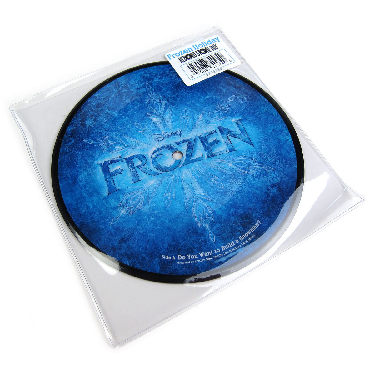 "Disney: Frozen Holiday (Picture Disc) Vinyl 7"" (Record Store Day)"