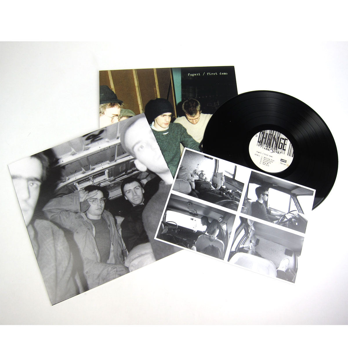 Fugazi: First Demo (Free MP3) Vinyl LP detail