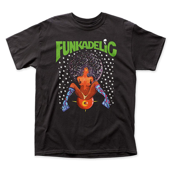 Funkadelic: Afro Girl Shirt - Black