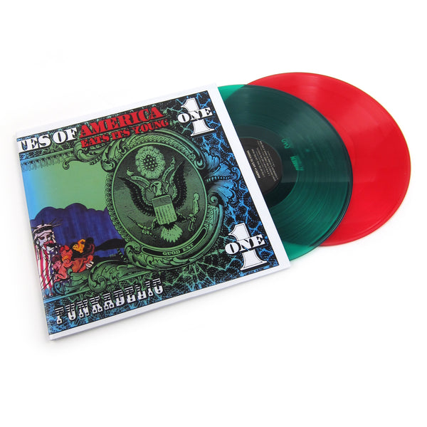 Funkadelic: America Eats Its Young (Red+Green Colored Vinyl) Vinyl 2LP