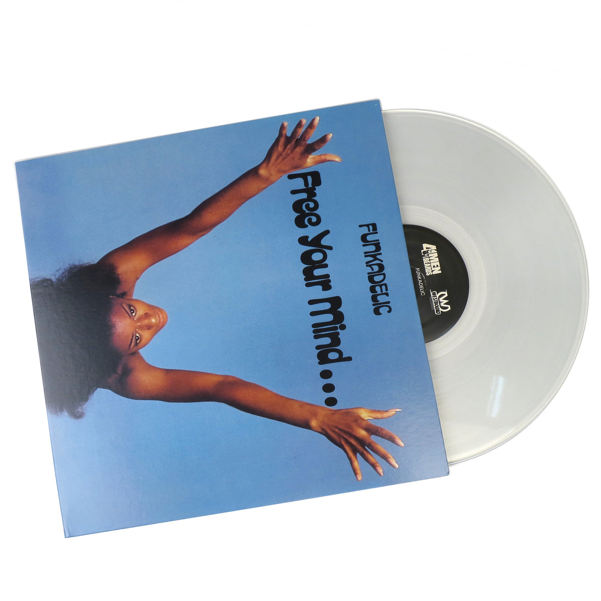 Funkadelic: Free Your Mind Clear Vinyl
