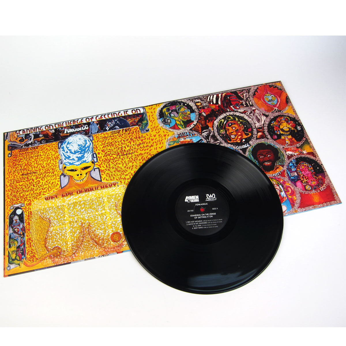 Funkadelic: Standing On The Verge Of Getting It On (180g) Vinyl LP