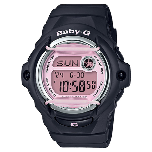 G-Shock: BG169M-1 Baby-G Watch - Black / Pink