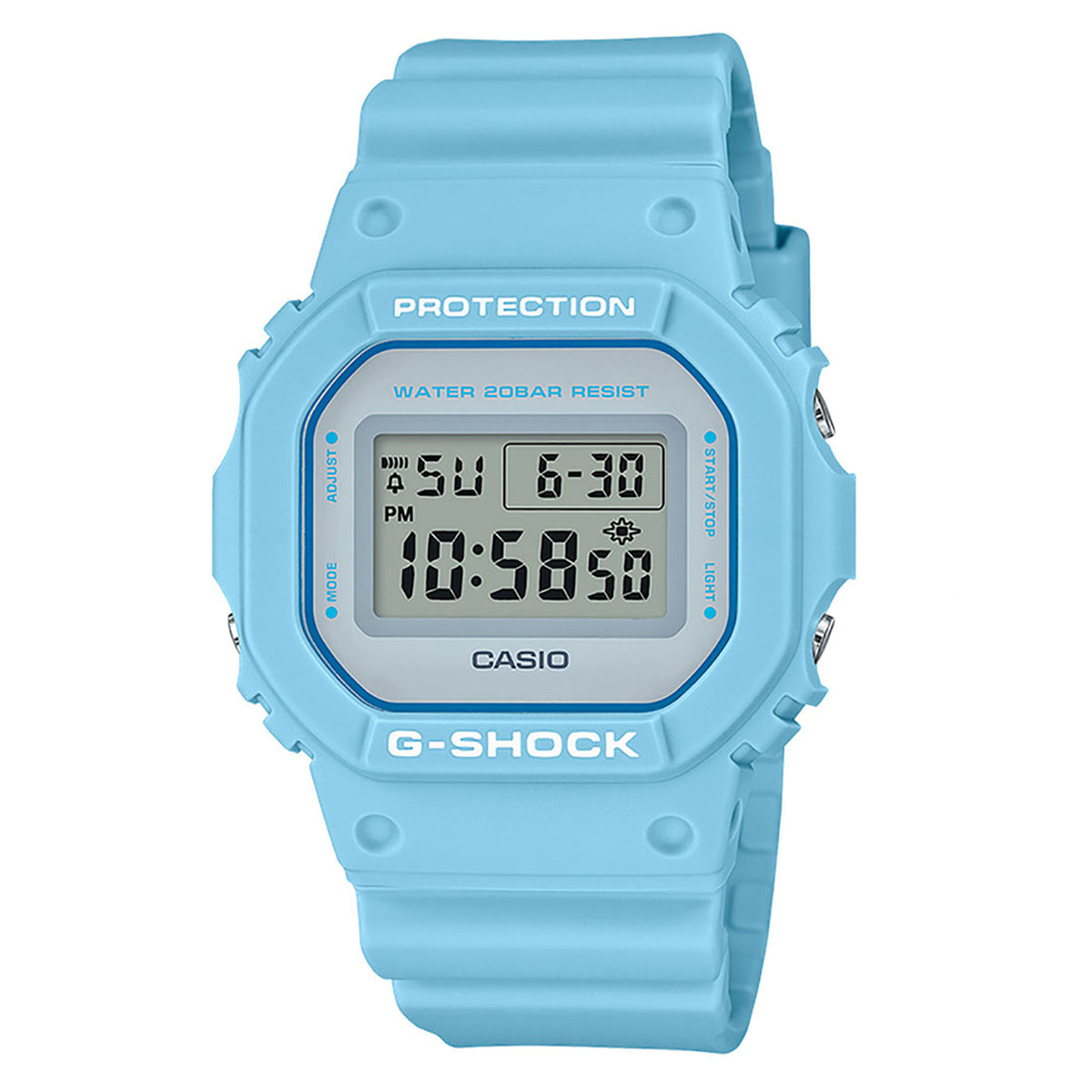 G-Shock: DW5600SC-2 Watch - Blue