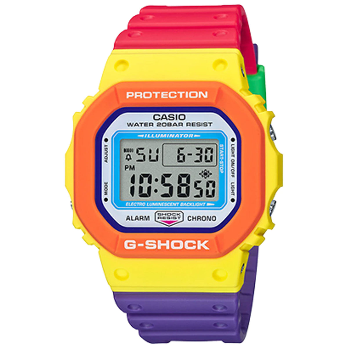 G-Shock: DW5610DN-9 Watch - Multi-Colored