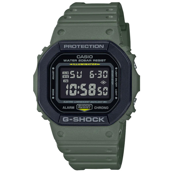 G-Shock: DW5610SU-3 Watch - Army / Black