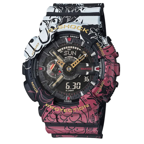 G-Shock: GA110JOP-1A4 One Piece (Anime) Watch